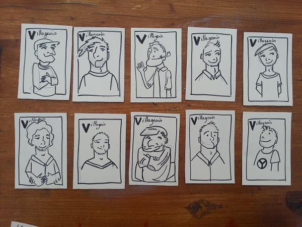 dessiner villageois thiercelieux