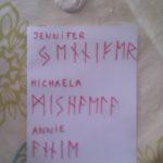 alphabet celtique