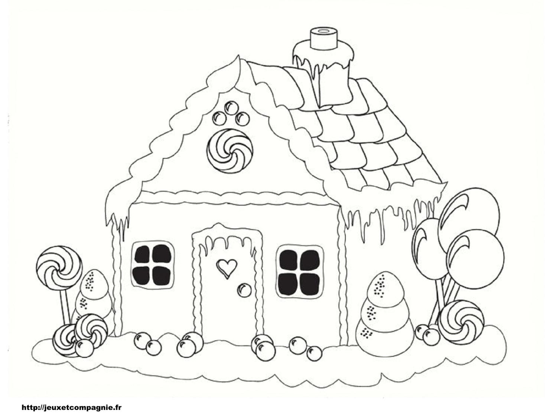 Dessin D Une Belle Maison : Coloriages de maisons