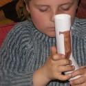 Bricolage pour enfant : animal télescopique