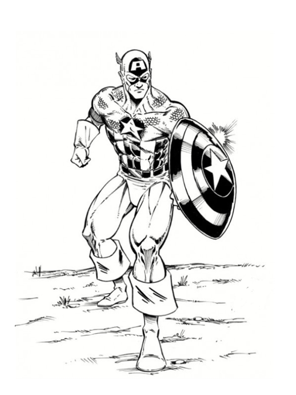 The avengers 2012 extrait coloriages avengers - Dessin de thor ...