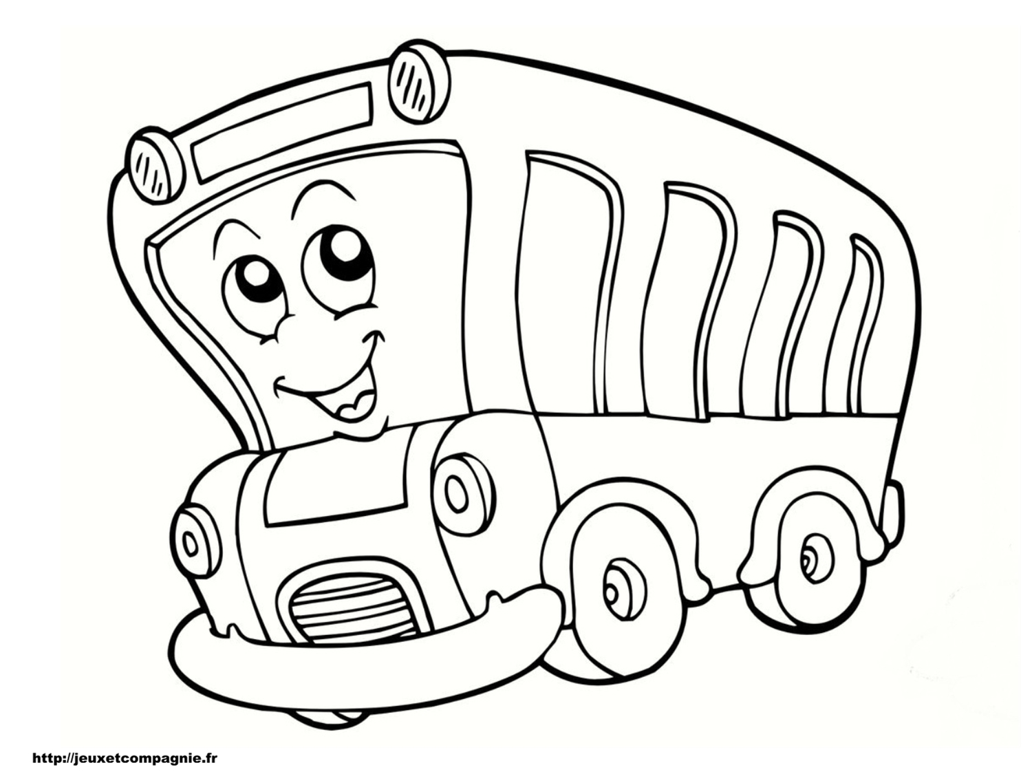 Coloriages de v hicules - Car coloriage ...