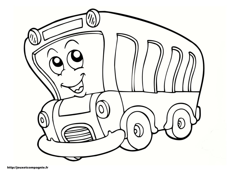 Famous coloriage autobus scolaire - Coloriage car scolaire ...