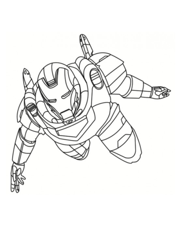 The avengers 2012 extrait coloriages avengers - Coloriage ironman ...