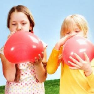 ballon gonflé
