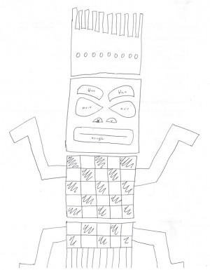 dessin totem