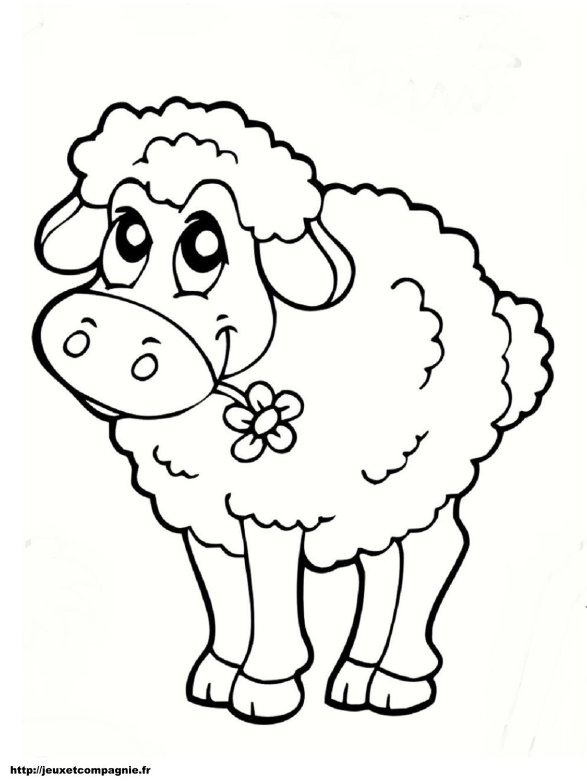 Coloriages animaux de la ferme