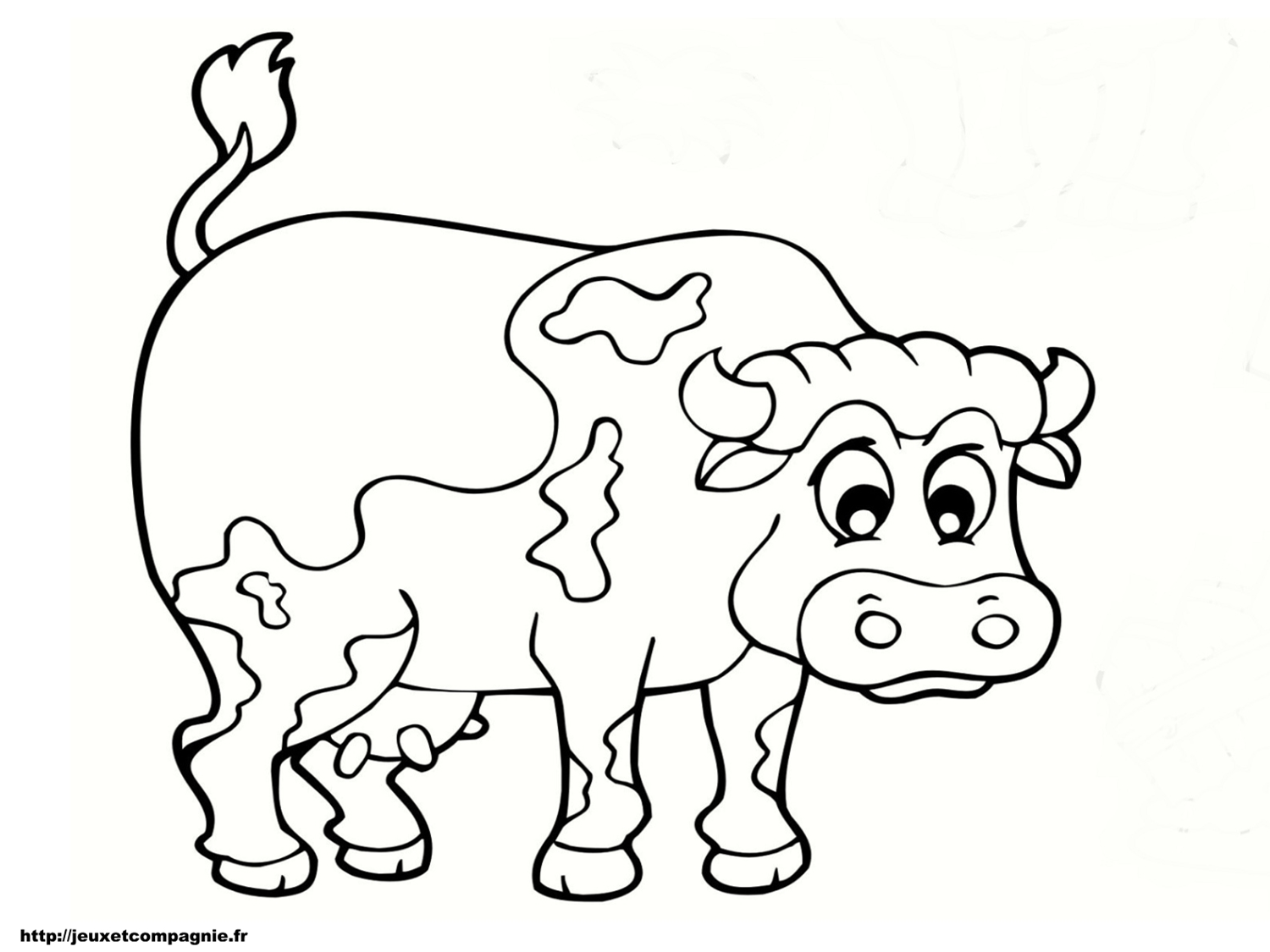 Coloriages animaux de la ferme - Grand dessin a colorier ...