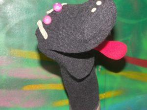 marionnette chaussette fabrication