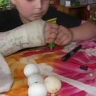 fabrication marionnette chaussette