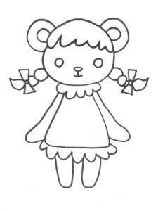 dessins de nounours