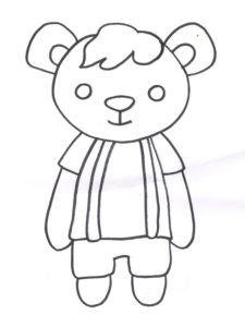 coloriages nounours