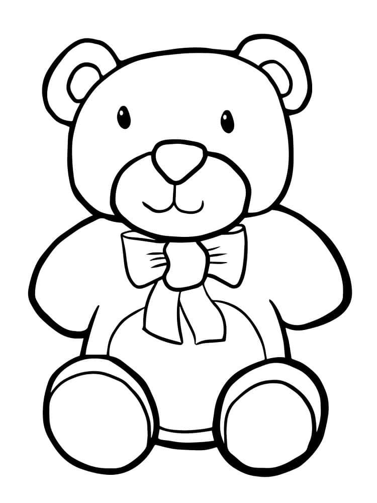 Dessin de nounours - Comment dessiner un ours ...