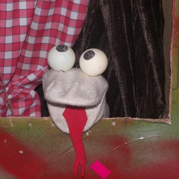 fabriquer une marionnette chaussette