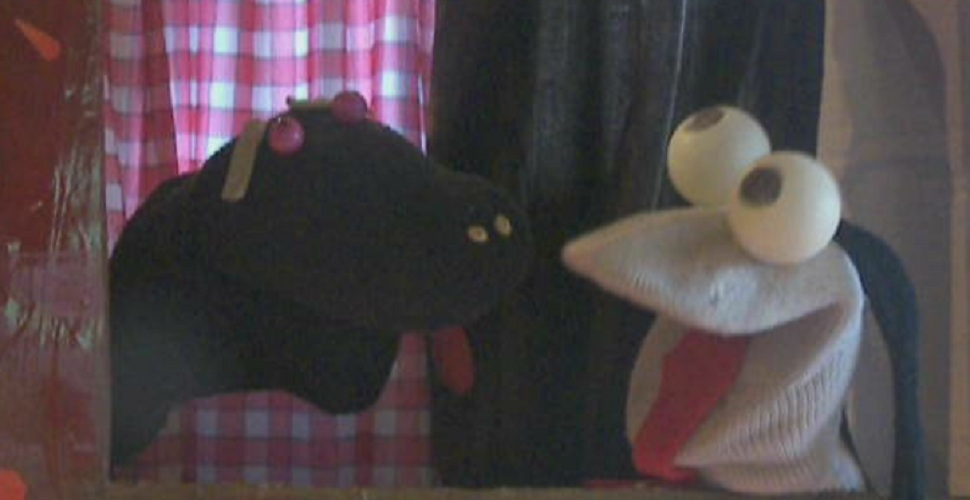 marionnettes chaussettes serge et paluk. Black Bedroom Furniture Sets. Home Design Ideas