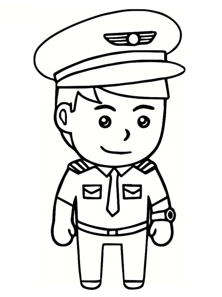 Coloriages personnages imprimer - Dessin de militaire ...