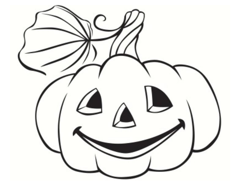 Coloriages halloween imprimer - Citrouille halloween dessin ...
