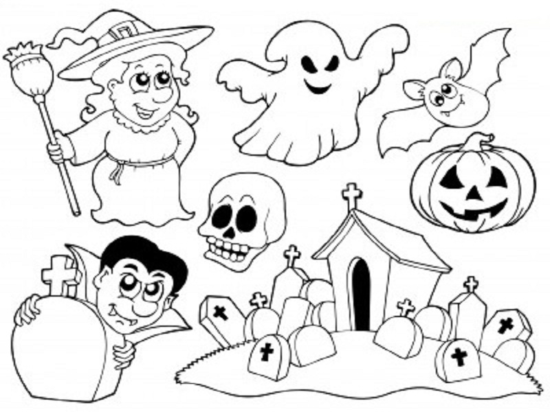 Coloriages Halloween A Imprimer