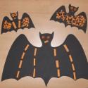 Décoration Halloween : les chauves souris