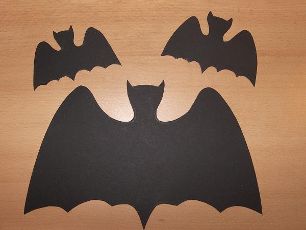 D coration halloween les chauves souris - Deco halloween chauve souris ...