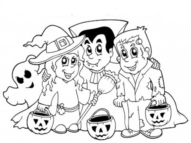 Coloriages halloween imprimer - Coloriages d halloween ...