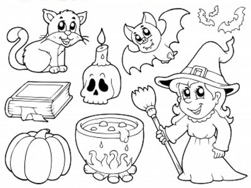 Coloriages halloween imprimer - Dessin halloween facile ...