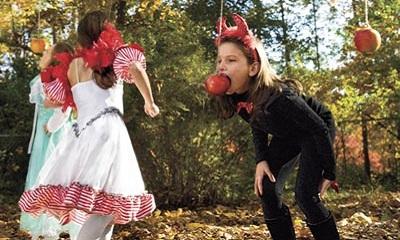 jeu de la pomme