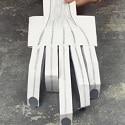 main squelette papier