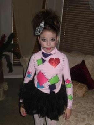 costume poupée