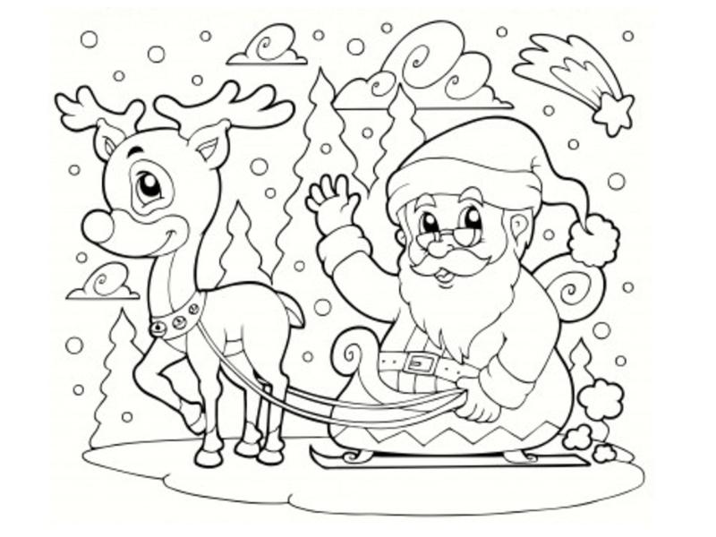 Dessin Noël Imprimer
