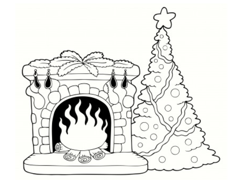 dessin no l imprimer. Black Bedroom Furniture Sets. Home Design Ideas