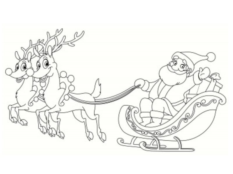 Dessin Noel Imprimer
