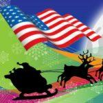 Un Père Noël en Amérique