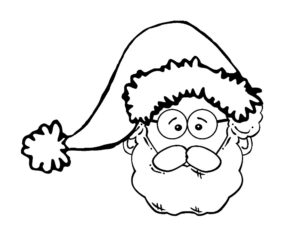dessin papa noel