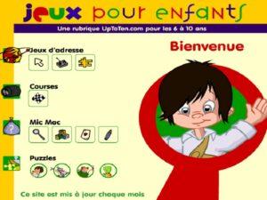 jeux en ligne pour enfants