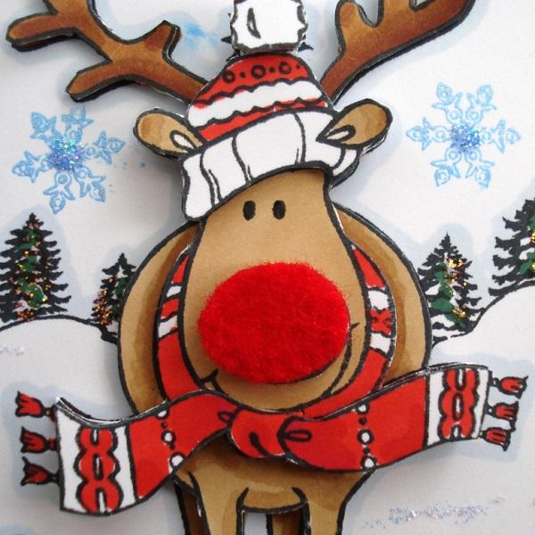Les rennes du p re no l existent ils vraiment - Decoration de noel rennes ...