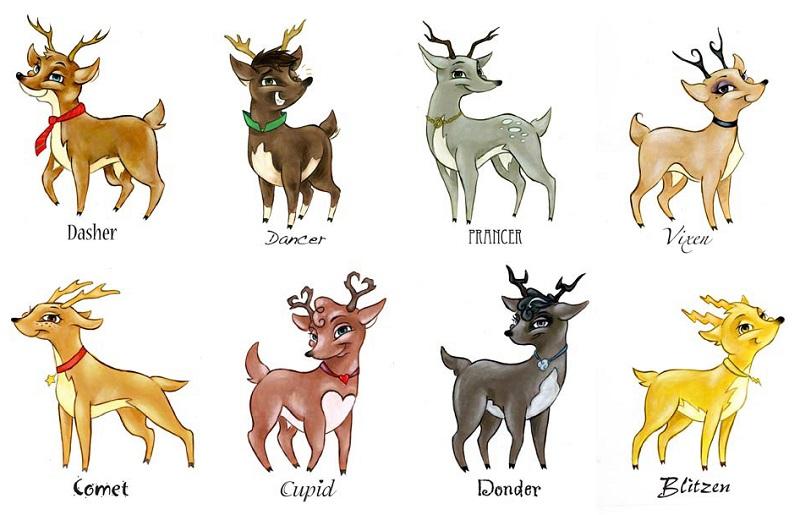 Les rennes du p re no l existent ils vraiment - Reine du pere noel ...