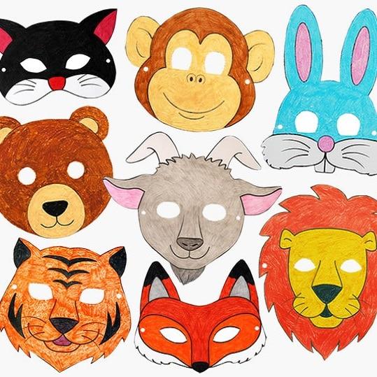 masques imprimables gratuits