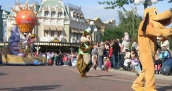 Les animations à Disneyland