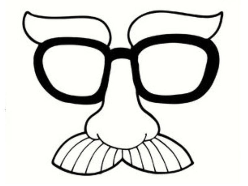 Coloriage de mardi gras - Moustaches maternelle ...