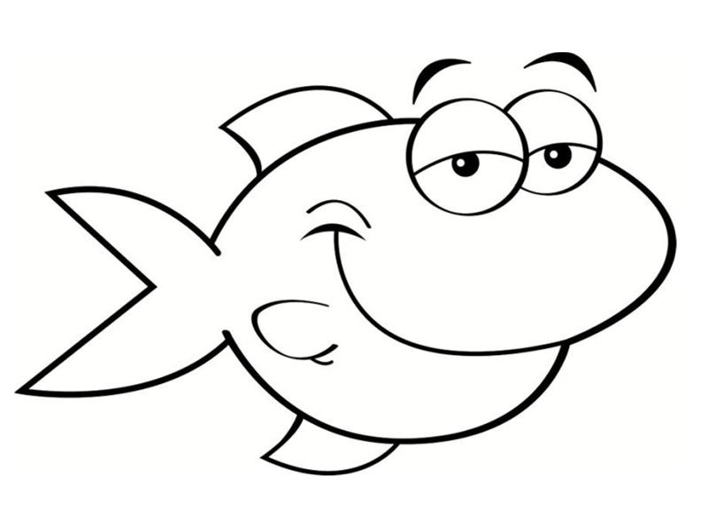 Poissons coloriages - Image de poisson a imprimer ...
