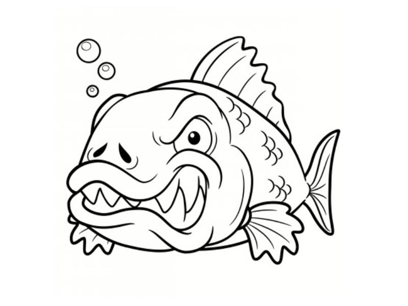 poissons coloriages des dessins imprimer