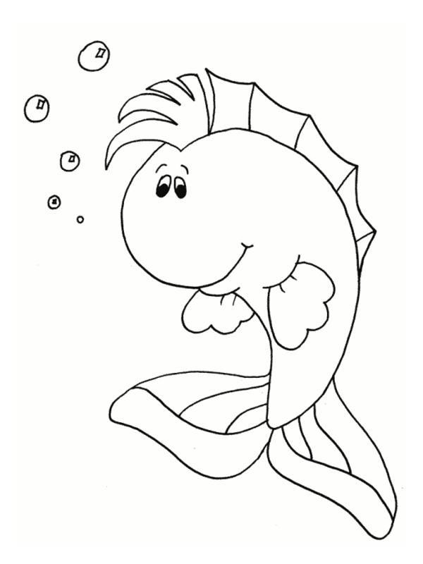 coloriage des poissons