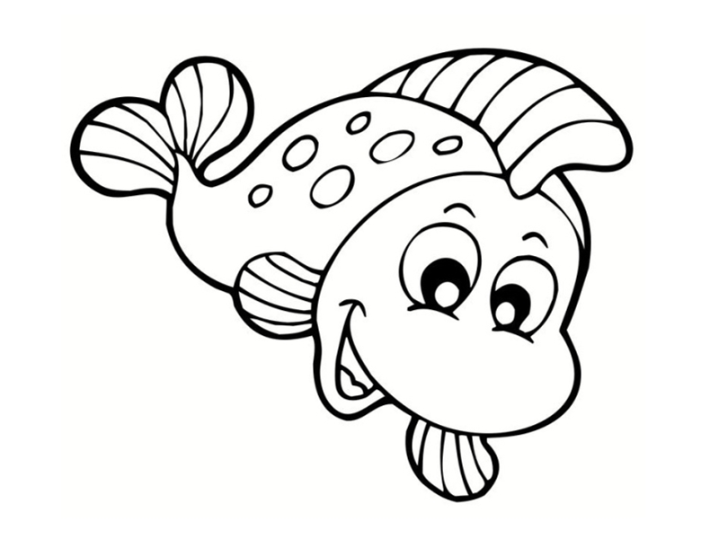 Poissons coloriages - Poisson avril coloriage ...