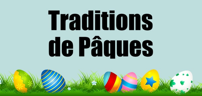 traditions de paques