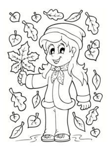 dessin automne