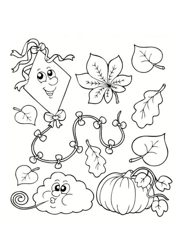 Coloriages d 39 automne imprimer gratuitement - Coloriages automne ...