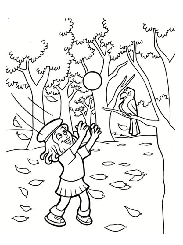 Coloriages d 39 automne imprimer gratuitement - Arbre d automne dessin ...