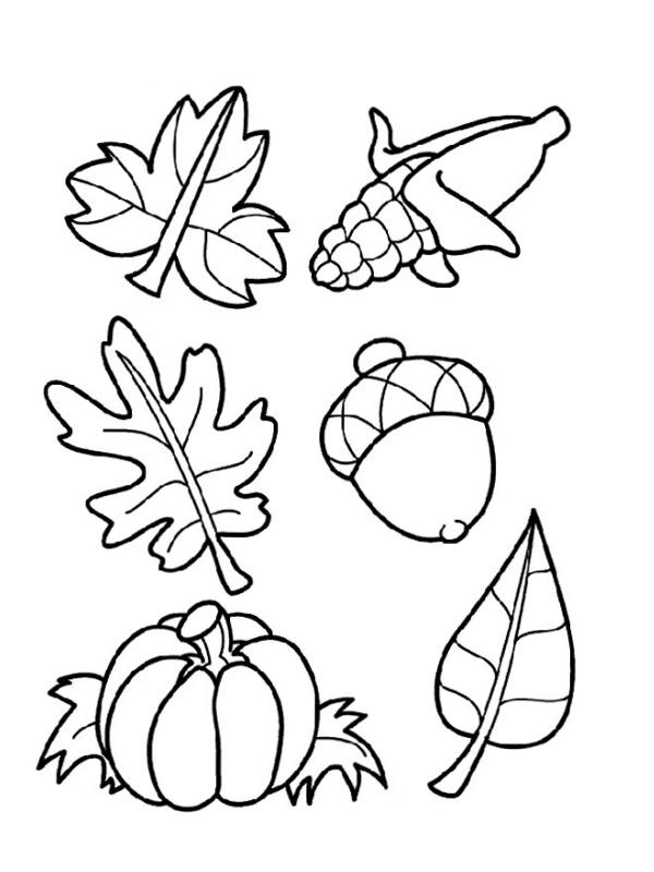 Coloriages d'automne à imprimer gratuitement