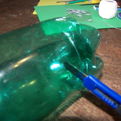 Bricolage pour grand une tortue originale - Bricolage avec du plastique ...